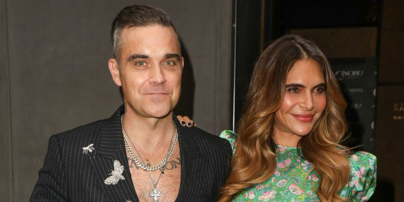Robbie Williams and Ayda Field's daughter Coco is delighted with her new baby brother