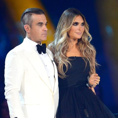 Robbie Williams and Ayda Field announced the birth of their fourth child on Valentine's Day