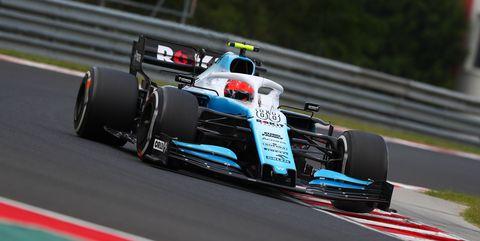 Robert Kubica of ROKiT Williams Racing during practice for...