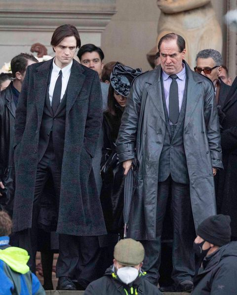 The Batman filming photo gives new look at Colin Farrell Penguin