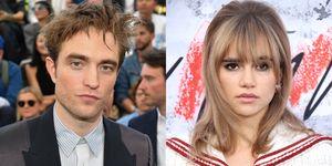 Robert Pattinson and Suki Waterhouse