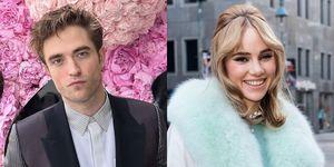 Robert Pattinson en Suki Waterhouse daten, zoenend gespot