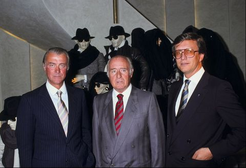 A new store of Gucci in Paris,France on September 22th,1983.
