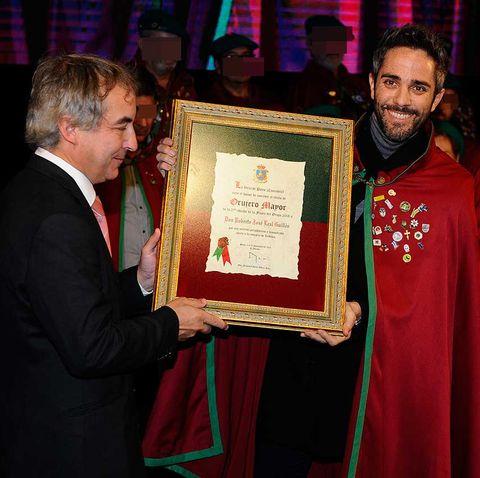 Roberto Leal, Orujero Mayor de Potes 2018