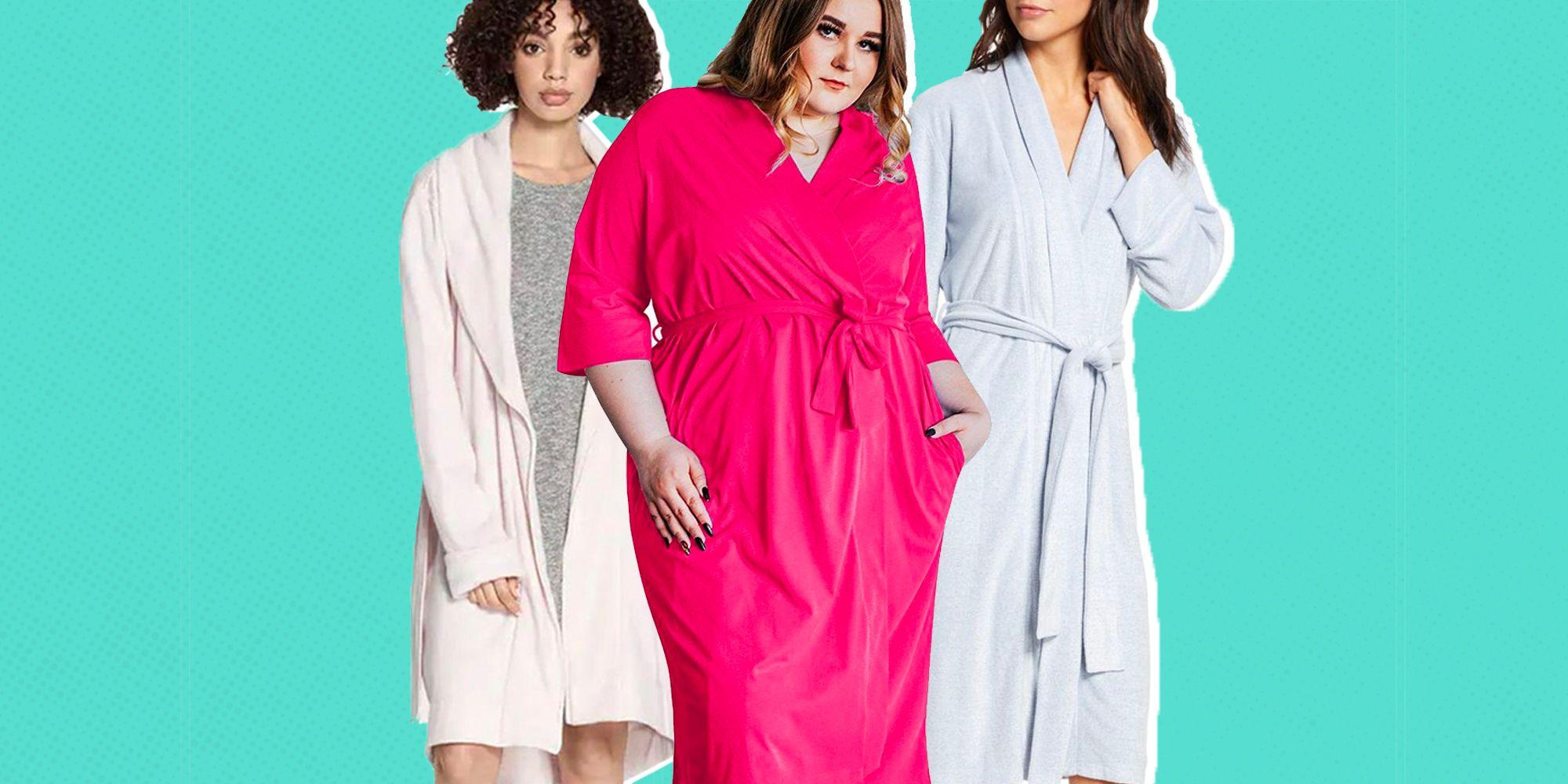 Lady Selena Women/'s Summer Kimono Bath Robe Dressing Gown Wrap Loungewear