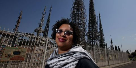 robin coste lewis, watts towers art center, los angeles