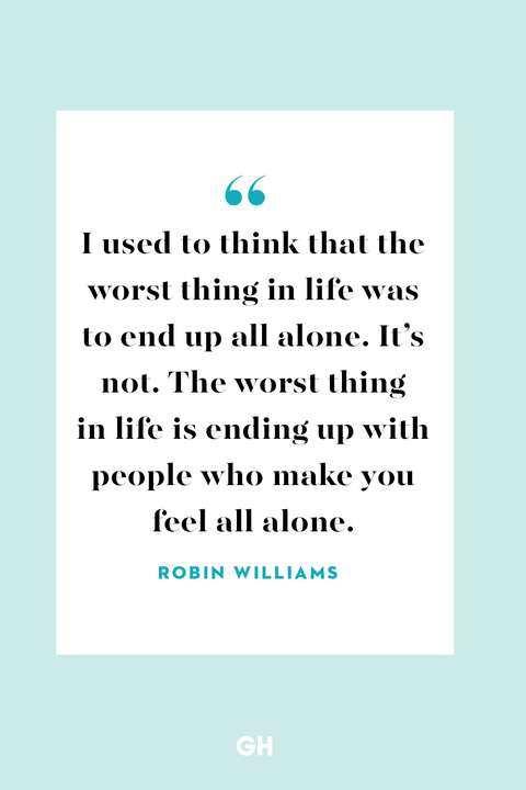 Married but feel alone quotes