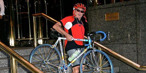 robin williams colnago riding bikes