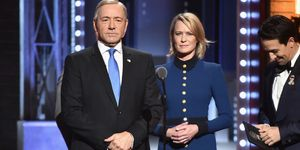 Robin Wright, Kevin Spacey, House of Cards, Frank Underwood