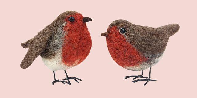 felt robin