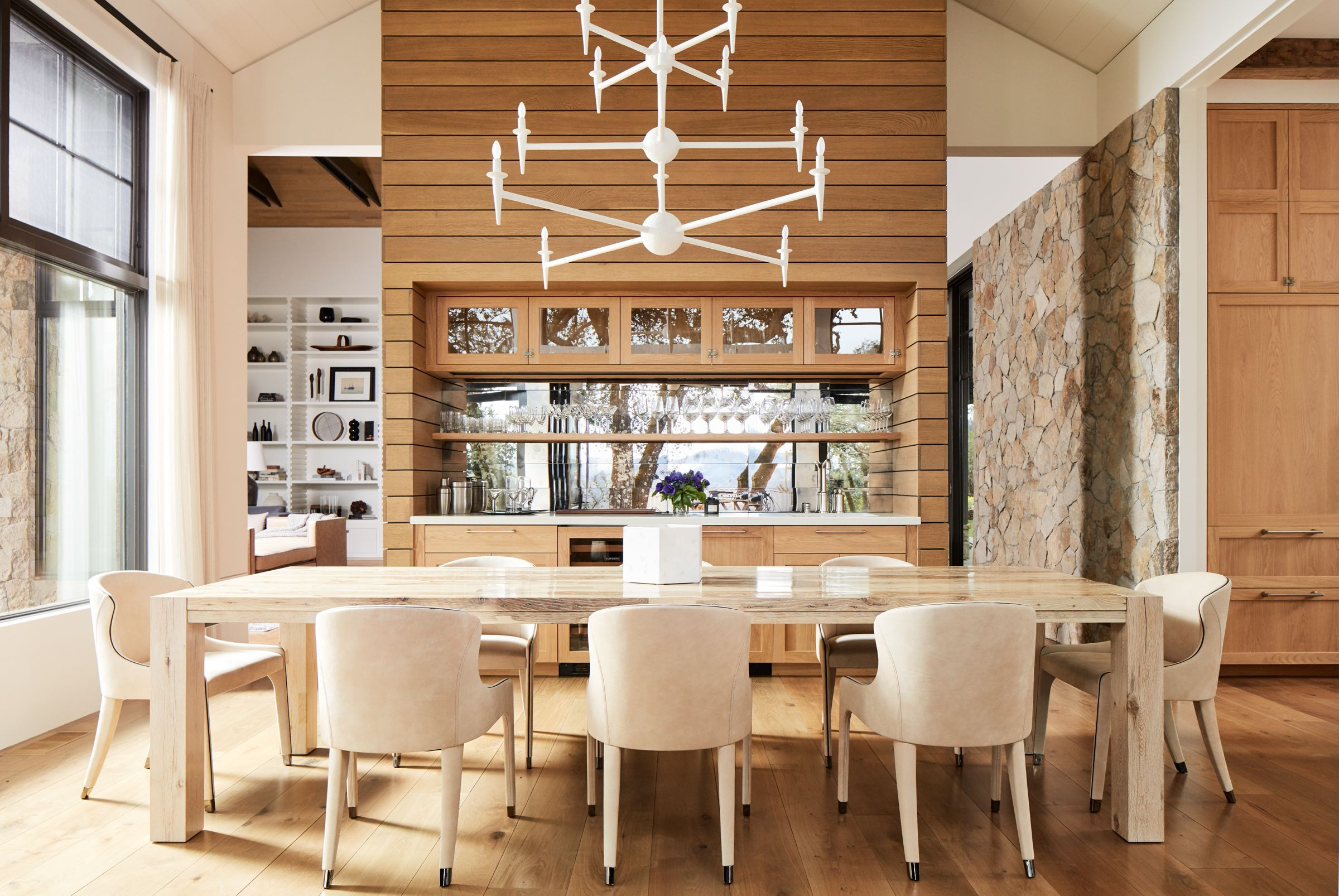 Tour A Rustic Modern Napa Valley Estate