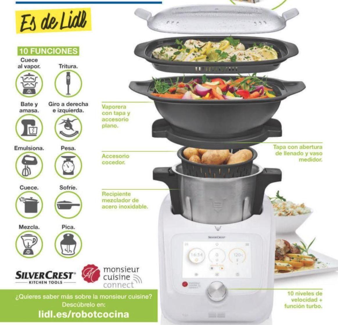 Oferta Robot De Cocina | Lidl Acaba De Sacar Al Mercado Un Nuevo Robot De Cocina Que Promete