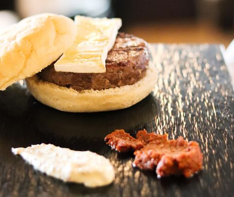 hamburguesa del restaurante rocacho, madrid