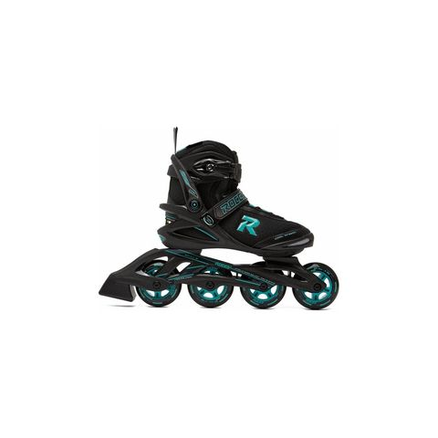 roces skates skeelers groen zwart skaten