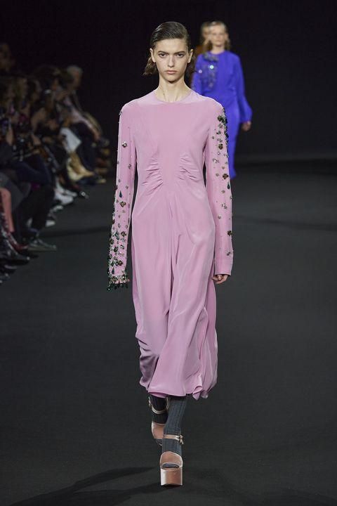 Rochas Herfst/Winter 2020 show op Paris Fashion Week.