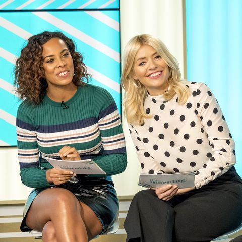 Rochelle Humes' latest Instagram post with her sister even has Holly Willoughby confused