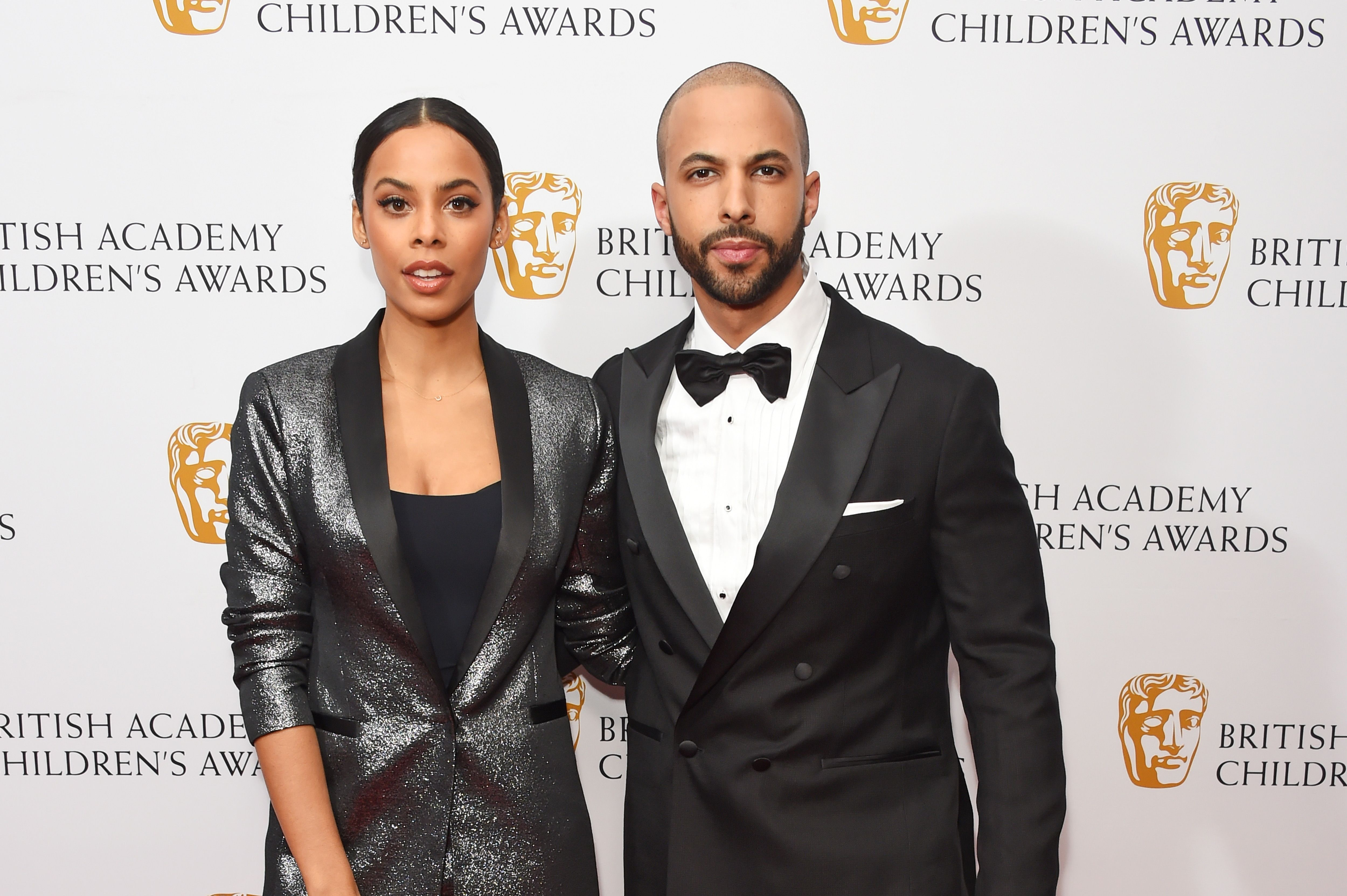 Rochelle Humes Sparkly New Look Suit Is The Perfect Party Dress Alternative