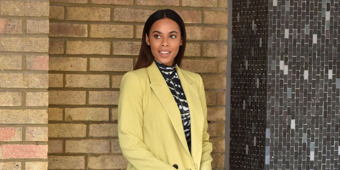 Rochelle Humes shares adorable picture of daughter's first day at school