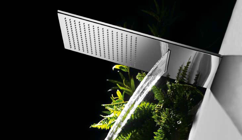 Rociador ducha INOX a techo anticalcárea