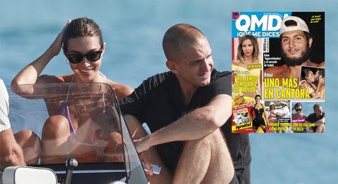 Rocío Crusset y Maggio Cipriani, juntos de vacaciones en la portada de QMD! 1167