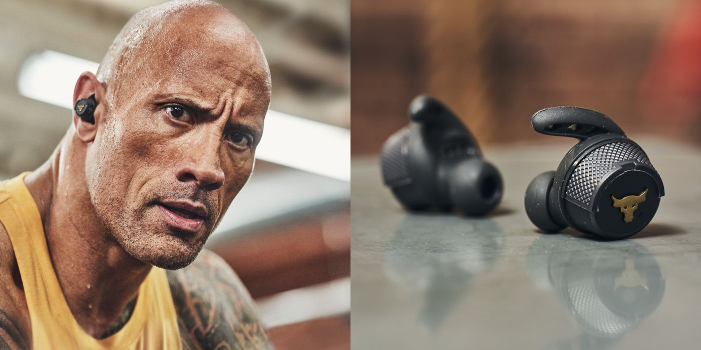 Dwayne The Rock Johnson Releases In Ear Workout Buds With