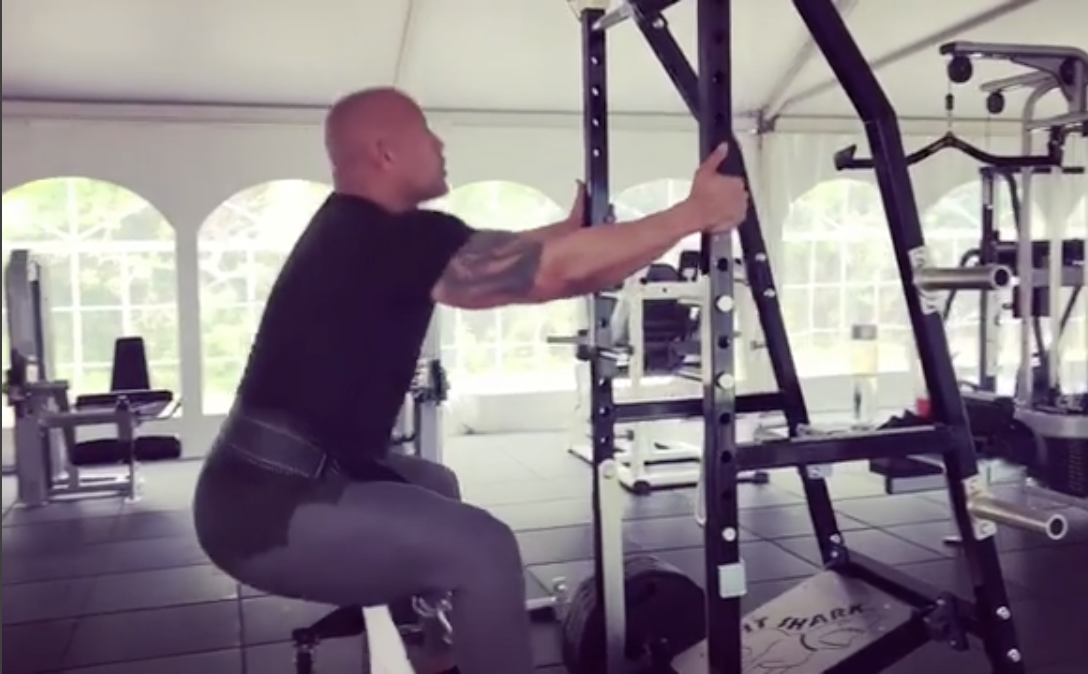 8312f7b007 You Can Do The Rock's Leg Day Workout