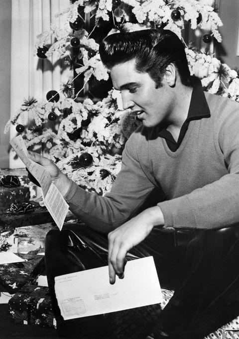 Elvis Reading his Draft Notice