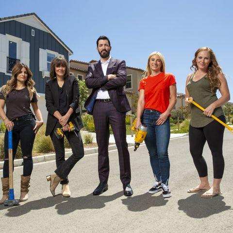 """Rock the Block"" HGTV - Mina Starsiak, Jasmine Roth, Leanne Ford, Alison Victoria"