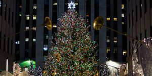 rockefeller christmas tree throughout the years