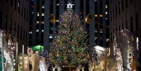 Rock Around The Christmas Tree.Rockefeller Center Christmas Tree Photos Through The Years