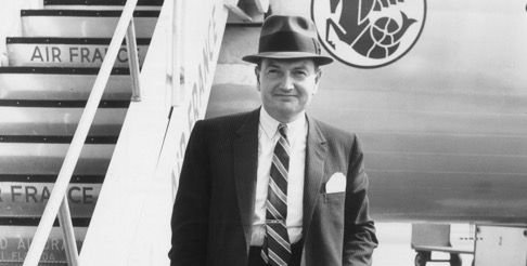 David Rockefeller at New York International, 1963