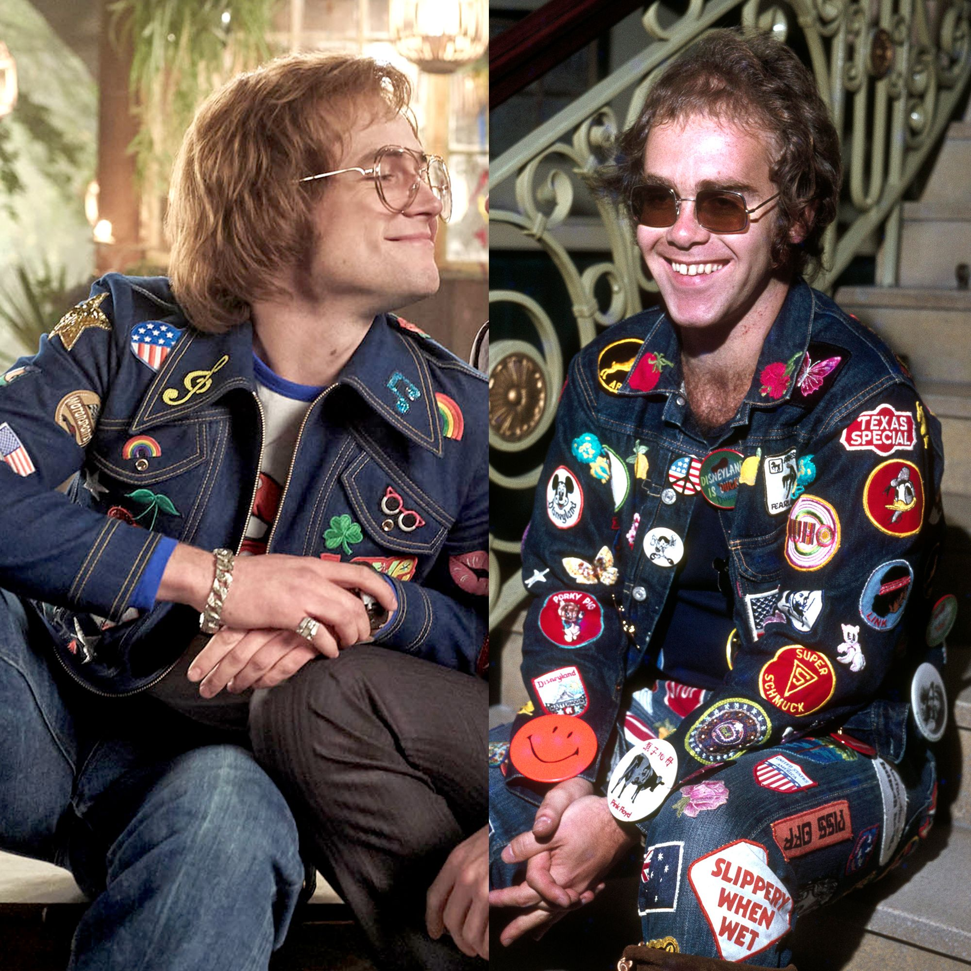 Rocketman Cast Real Life Comparison - What Do Elton John, John Reid &  Bernie Taupin Really Look Like?
