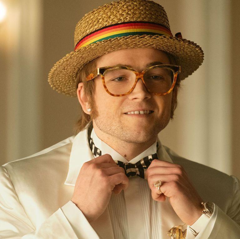 "Rocketman's Taron Egerton explains why he didn't ""camp it up"" for Elton John role"