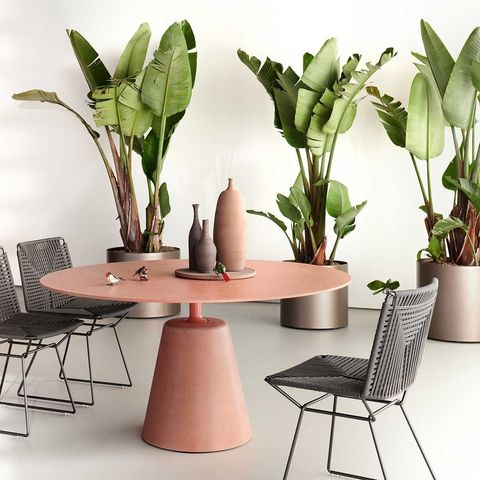 rock outdoor dining table by mdf italia garden ideas furniture