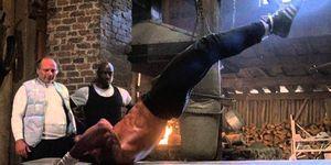 Rocky entrenamiento película