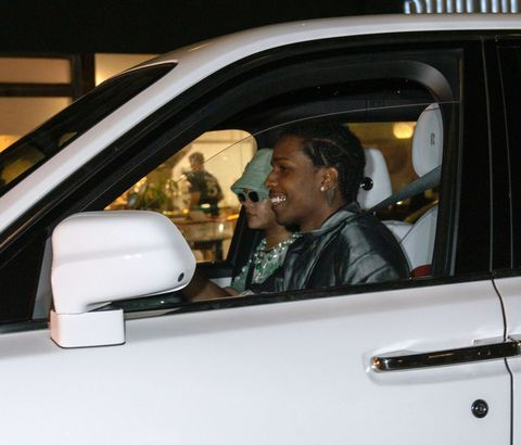 rihanna and a$ap rocky in new york city on july 07, 2021