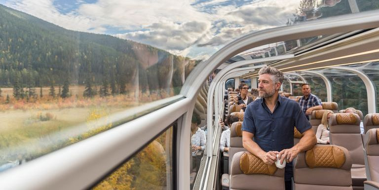 You Can Ride This Glass-Domed Train Through the Mountains From Colorado to Utah