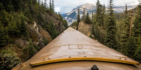All Aboard the Rocky Mountaineer Scenic Train