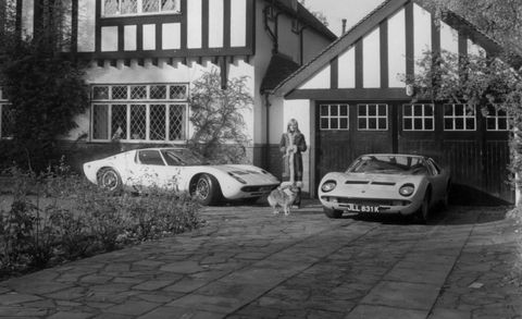 Lamborghini Miura For Sale In U K Was First Owned By Rod Stewart
