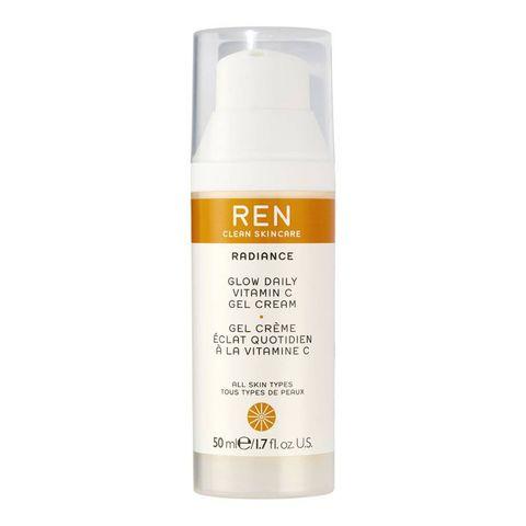 ren radiance glow daily vitamin c gel cream   dagcrème