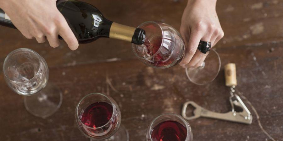 rode-wijn-afvallen