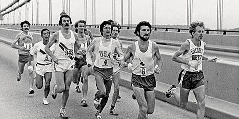 Bill Rodgers in 1976 New York City Marathon