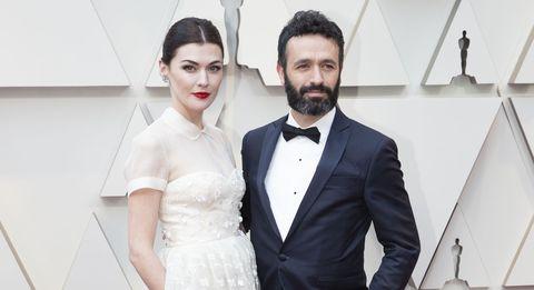 Rodrigo Sorogoyen y Marta Nieto Oscar alfombra roja