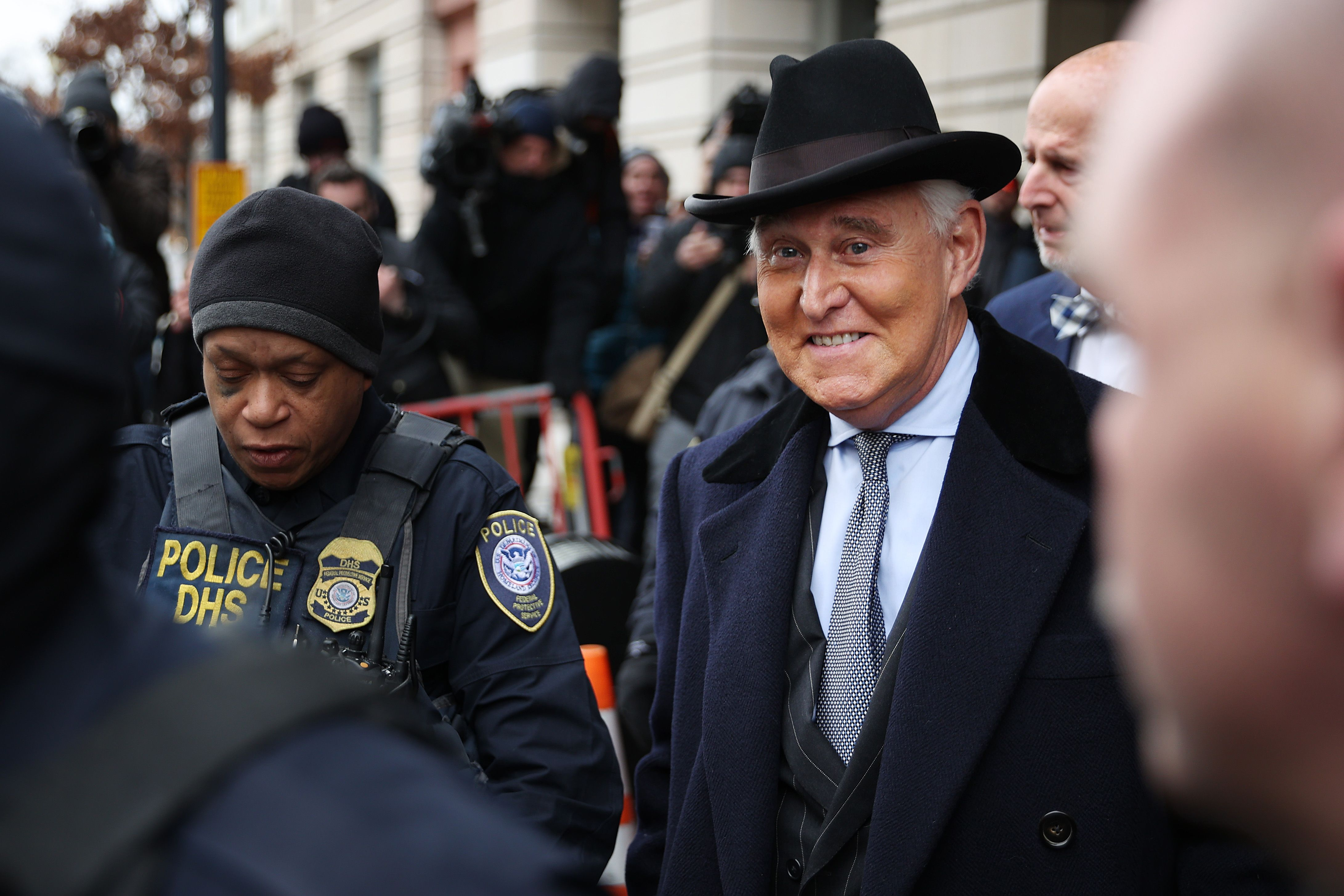 Trump Commuted His Pal Roger Stone's Prison Sentence