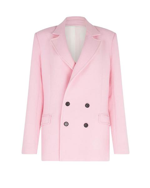 roland mouret pink blazer