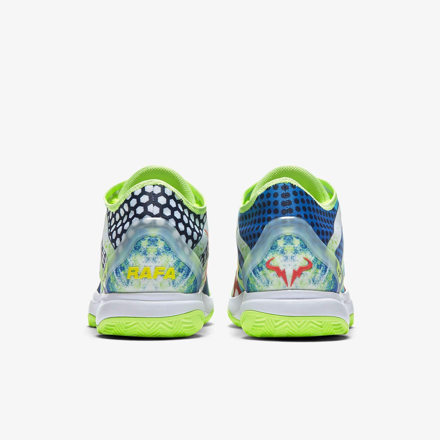 Así son las nuevas zapatillas Nike que homenajean a Rafa