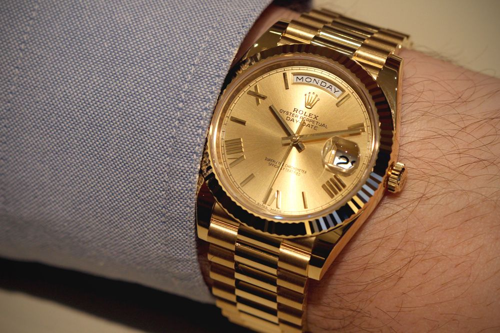 Rolex launches the Day,Date 40
