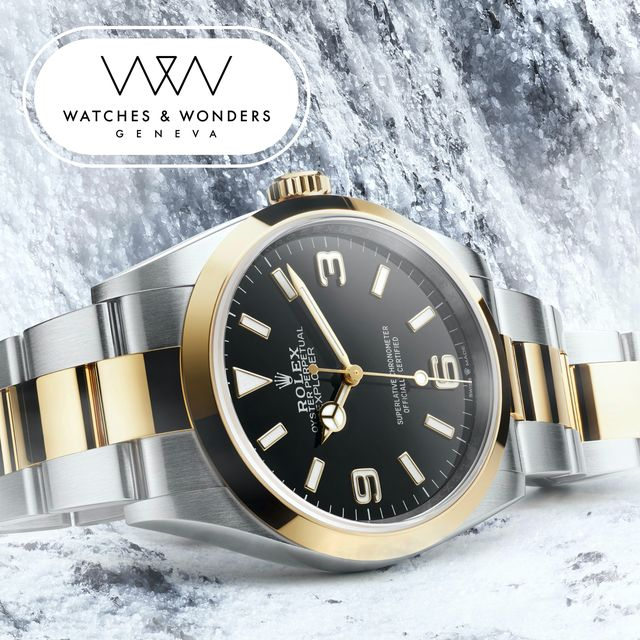 rolex explorer i watches and wonders 2021