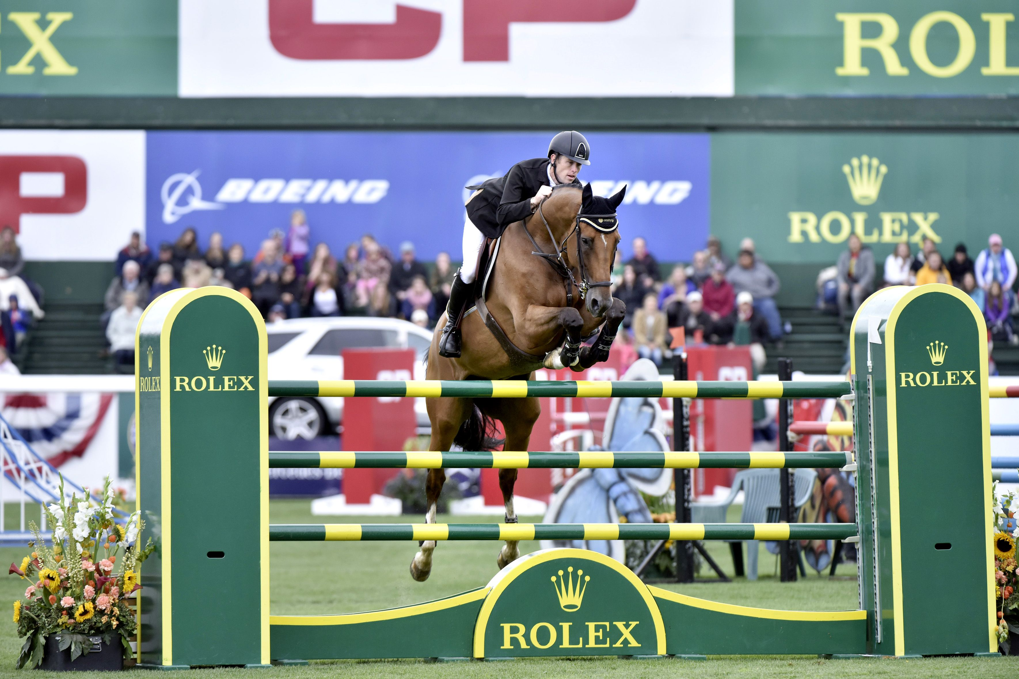 A glimpse inside the glamorous world of showjumping