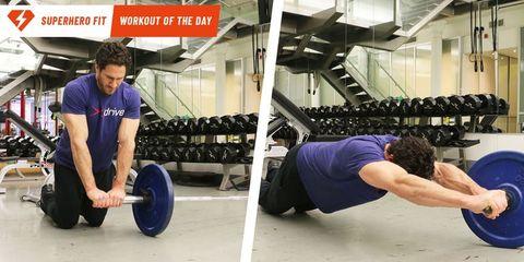 ランドマイン トレーニング ,ランドマイン ロールアウト,腹筋,    美しい腹筋,ryan reynolds, ryan reynolds - workout, ryan reynolds - trainer, don saladino, don saladino - trainer, abs workout, abs exercise, core workout, core exercises, landmine workout, superhero workout